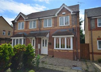 Thumbnail 3 bed semi-detached house to rent in Mead Road, Abbeymead, Gloucester