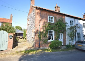 Thumbnail 3 bed end terrace house for sale in Pound Lane, Litcham, King's Lynn
