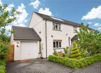Thumbnail 4 bed semi-detached house for sale in Littlebridge Meadow, Bridgerule, Holsworthy