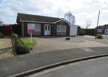 Thumbnail 2 bed detached bungalow for sale in Orchard Close, Moulton, Spalding