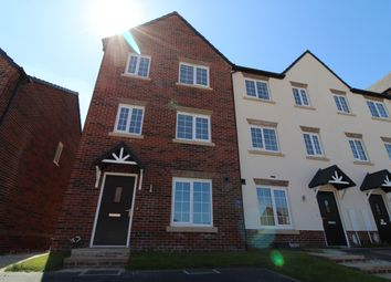 Thumbnail 3 bed town house for sale in Denby Close, Wingerworth