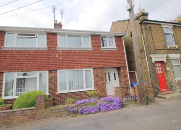 Thumbnail 3 bed semi-detached house for sale in Church Road, Oare, Faversham