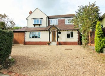 Thumbnail 4 bed detached house for sale in The Crest, Widley, Waterlooville