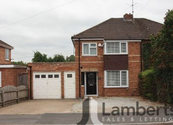Thumbnail 3 bed semi-detached house for sale in Walkwood Road, Crabbs Cross, Redditch