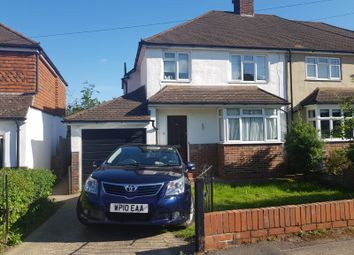 Thumbnail 3 bedroom semi-detached house to rent in Kings Road, Tonbridge