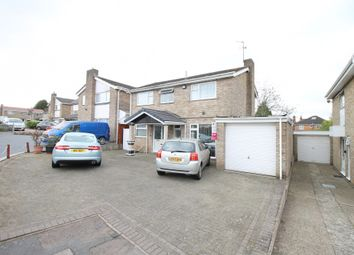 Thumbnail 4 bed detached house for sale in Buckfast Close, Leicester, Leicestershire