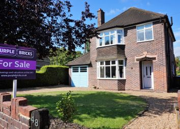 Thumbnail 3 bed detached house for sale in Fernhill Road, Farnborough
