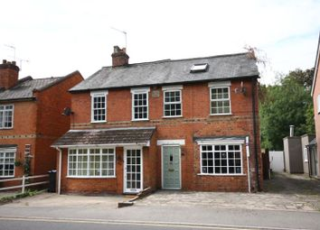 Thumbnail 3 bed semi-detached house to rent in St Judes Road, Englefield Green, Surrey
