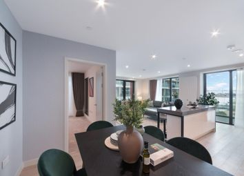 Thumbnail 3 bed flat for sale in Marco Polo Tower, Royal Wharf, London
