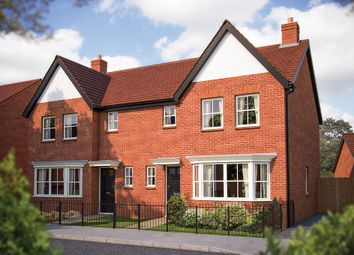"Thumbnail 3 bed semi-detached house for sale in ""The Horton"" at Spearhead Road, Bidford-On-Avon, Alcester"