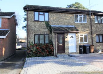 Thumbnail 2 bed semi-detached house to rent in Welham Manor, Welham Green, Hatfield