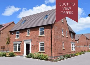 "Thumbnail 5 bed detached house for sale in ""Moorecroft"" at The Parade, Oadby, Leicester"