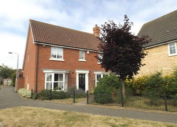 Thumbnail 4 bed detached house for sale in Banham, Norfolk