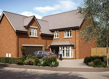 "Thumbnail 5 bed detached house for sale in ""The Langham"" at Burton Street, Market Harborough"