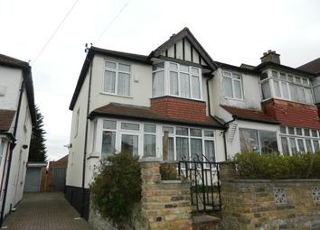 Thumbnail 3 bed end terrace house to rent in Elgar Avenue, Norbury