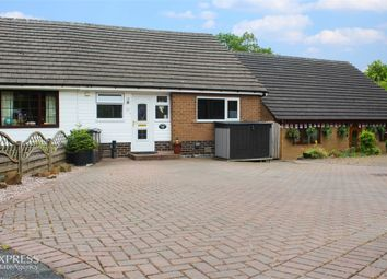 Thumbnail 3 bed semi-detached bungalow for sale in Hawthorn Close, Chinley, High Peak, Derbyshire