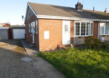 Thumbnail 2 bed semi-detached house to rent in Willow Garth, Eastrington, Goole