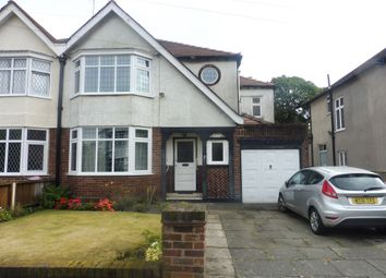 Thumbnail 4 bedroom semi-detached house for sale in Dudlow Gardens, Mossley Hill, Liverpool