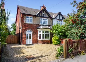 Thumbnail 3 bed semi-detached house for sale in Ollerton Road, Retford