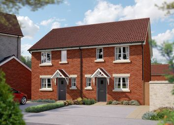 "Thumbnail 3 bed semi-detached house for sale in ""The Marston"" at Cleveland Drive, Brockworth, Gloucester"