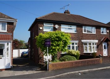 Thumbnail 2 bed semi-detached house for sale in Westfield Road, Manchester