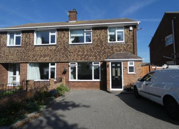 Thumbnail 3 bed semi-detached house to rent in Greenway, Faversham