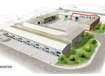 Thumbnail Commercial property to let in Units 16 & 17, Phoenix Enterprise Park, Gisleham, Lowestoft
