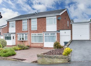 Thumbnail 3 bed semi-detached house for sale in Pennine Road, Bromsgrove
