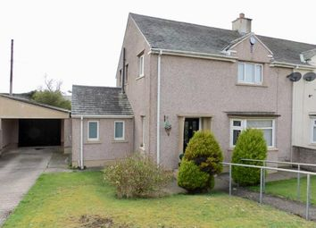 Thumbnail 3 bed semi-detached house for sale in Garth Road, Workington, Cumbria