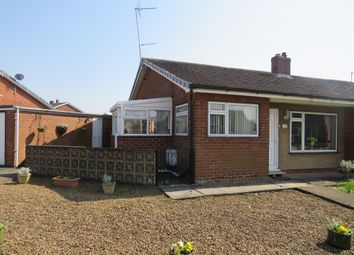 Thumbnail 2 bed semi-detached bungalow for sale in Greenacres Crescent, Brayton, Selby