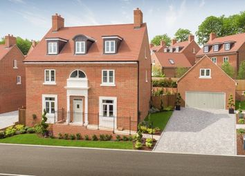 "Thumbnail 5 bed detached house for sale in ""The Highleigh"" at Kings Drive, Midhurst"