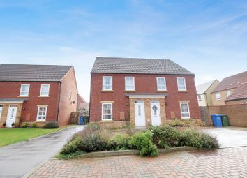 Thumbnail 3 bed semi-detached house for sale in Forge Close, Cayton, Scarborough