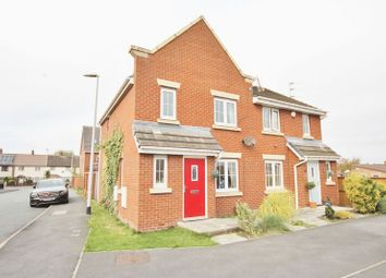 Thumbnail 3 bed semi-detached house for sale in Kingham Close, Moreton, Wirral