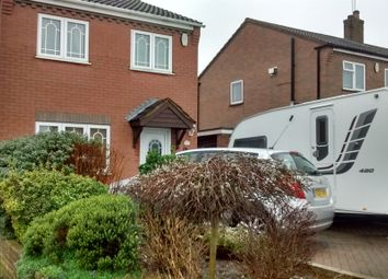 Thumbnail 3 bed detached house for sale in Polperro Way, Hucknall, Nottingham