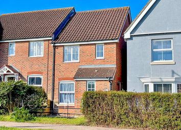 Thumbnail 2 bed terraced house to rent in Oak Eggar Chase, Pinewood, Ipswich