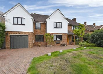 Thumbnail 5 bed detached house to rent in Oak Road, Cobham, Surrey