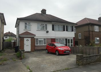 Thumbnail 3 bed semi-detached house to rent in Hughenden Gardens, Northolt, Middlesex