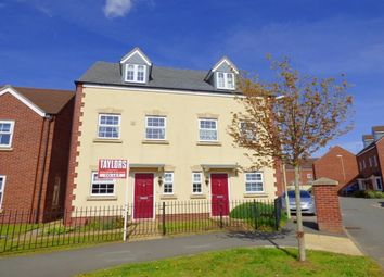 Thumbnail 3 bed property to rent in Valley Gardens Kingsway, Quedgeley, Gloucester