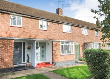Thumbnail 3 bed terraced house for sale in Lawrence Avenue, Sawbridgeworth