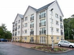 Thumbnail 2 bed flat to rent in Kelvindale Court, Kelvindale, Glasgow