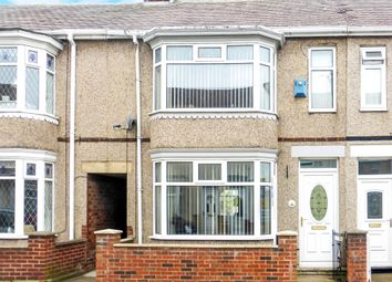 Thumbnail 3 bed terraced house for sale in Wolviston Road, Hartlepool
