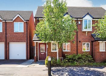 Thumbnail 2 bed semi-detached house for sale in Bakewell Drive, Nottingham