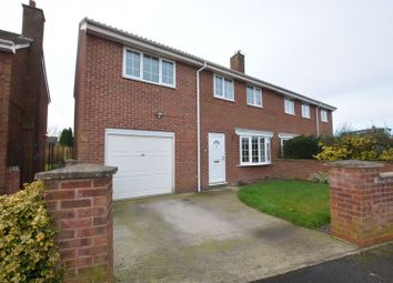 Thumbnail 5 bed semi-detached house for sale in Oakdale Close, Snaith, Goole