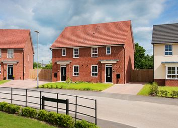 "Thumbnail 3 bed semi-detached house for sale in ""Folkestone"" at Lightfoot Lane, Fulwood, Preston"