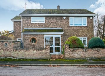 Thumbnail 3 bed detached house for sale in Milner Close, March