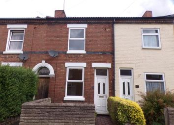 Thumbnail 2 bed terraced house for sale in Bearwood Hill Road, Burton On Trent, Staffordshire