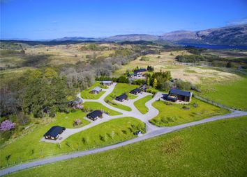 Thumbnail 4 bed detached house for sale in Airdeny Lodge & Chalets, Taynuilt, Argyll