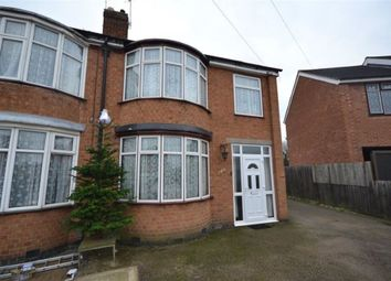 Thumbnail 3 bed semi-detached house to rent in Northdene Road, West Knighton, Leicester