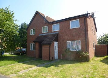 Thumbnail 2 bedroom terraced house to rent in Stanch Hill Road, Sawtry, Huntingdon