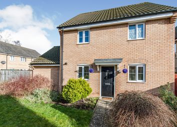 Thumbnail 3 bed semi-detached house for sale in Fortress Road, Carbrooke, Thetford